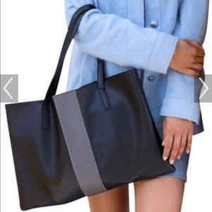 Vince Camuto Vegan Leather Tote NWT